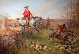 George Washington Fox Hunt, After cleaning